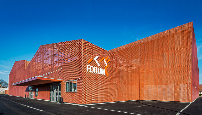 Forum: a jigsaw of expanded metal